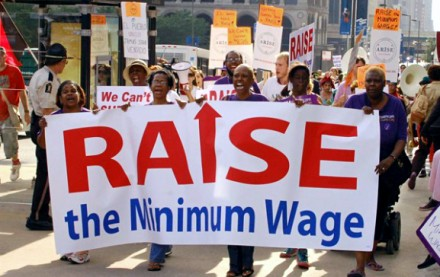 Chicago Raise the Min Wage Rally