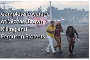 Covering Ferguson up close